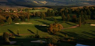 golf semesterorten Royaltyfria Bilder