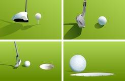 Golf Series Stock Photos