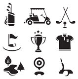 Golf set Stock Images