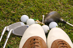 Golf Shoes Royalty Free Stock Photos