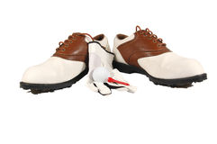 Golf Shoes Royalty Free Stock Image