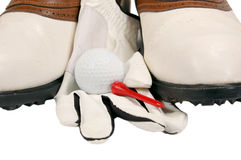 Golf Shoes Close-up Stock Photo
