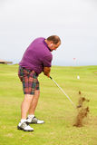 Golf shot Royalty Free Stock Photos