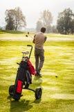 Golf shot Royalty Free Stock Image