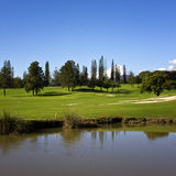 Golf in Spain Stock Photography