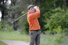 Golf spelare Royaltyfri Fotografi