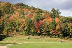 Golf spielen in Neu-England Stockfoto