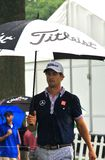 Golf spielender Pro-Adam Scott Stockfotos