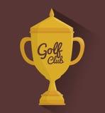Golf sport design Royalty Free Stock Image