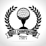 Golf sport design Stock Image