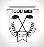 Golf sport design Royalty Free Stock Photo