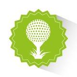 Golf sport emblem icon. Vector illustration design Royalty Free Stock Image