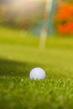 Golf is a sport that is popular around the world and good for health. Stock Image