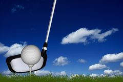 Golf Sport Theme Stock Photo