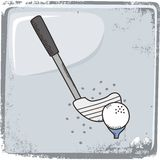 Golf sports theme Stock Images