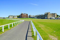 Golf St Andrews old course links. Scotland. Stock Images