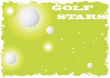 Golf stars Royalty Free Stock Photos