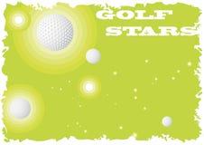 Golf stars Royalty Free Stock Photos