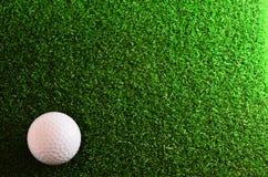 Golf su verde Immagini Stock Libere da Diritti