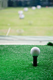 Golf sul T lungo Fotografie Stock Libere da Diritti