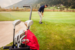 Golf sunday Royalty Free Stock Images