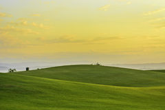 Golf Sunrise Stock Images