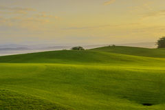 Golf Sunrise Stock Photo