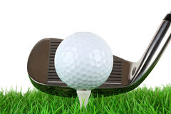 Golf swing 2 Royalty Free Stock Image