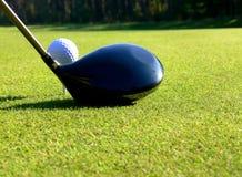 Golf - té hors fonction image libre de droits