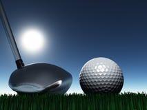 Golf-Tag stock abbildung