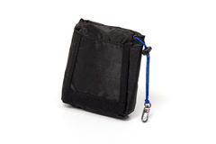 Golf tee bag pouch. On white background Stock Photography