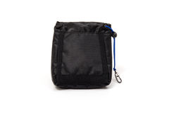 Golf tee bag pouch. On white background Stock Images