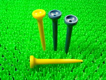 Golf tee Stock Photos