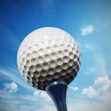 Golf tee Stock Image