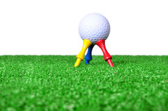 Golf tee Stock Photography