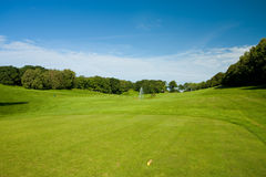 Golf teeing ground Royalty Free Stock Photos