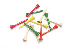 Golf Tees Royalty Free Stock Image