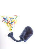 Golf Tees Stock Photo