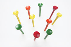 Golf Tees Stock Images
