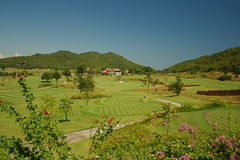 Golf in Thailand Royalty Free Stock Photography