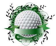 Golf theme banner Stock Images