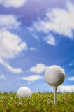Golf theme Royalty Free Stock Images