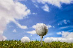 Golf theme Royalty Free Stock Photo