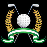 Golf Themed Background Stock Images
