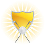 Golf Themed Background - starburst Stock Photography