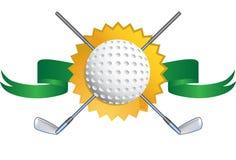 Golf-themenorientierter Hintergrund - Dichtung Lizenzfreie Stockbilder