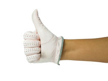 Golf thumb Royalty Free Stock Image