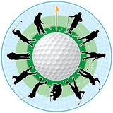 Golf Time Royalty Free Stock Images