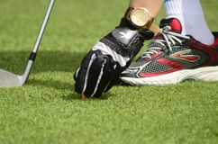 Golf tips. Sport golf play royalty free stock images