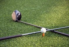 Golf tools Stock Images